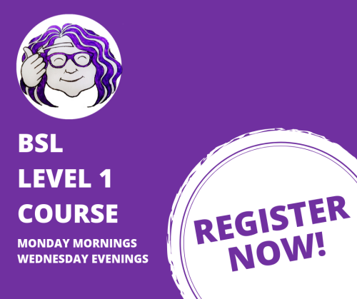 BSL LEVEL 1 COURSE Graphic