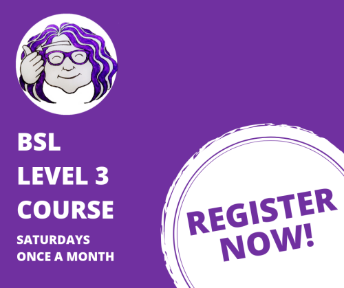 BSL LEVEL 3 COURSE Graphic